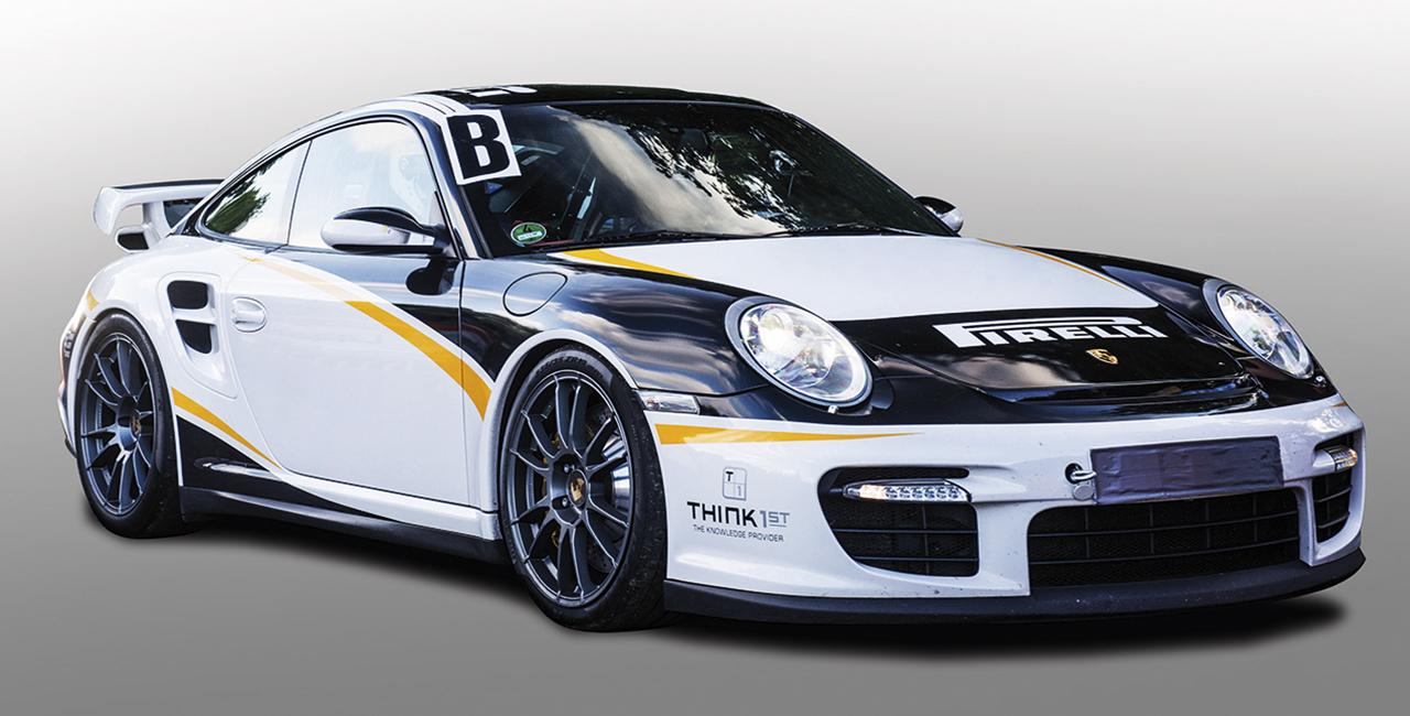 6 Runden Porsche 911 GT3 selber fahren in Groß Dölln
