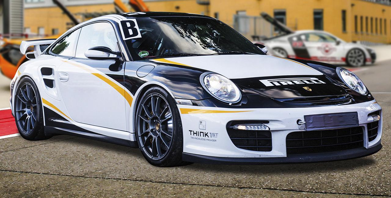 6 Runden Porsche GT3 selber fahren auf dem Hockenheimring