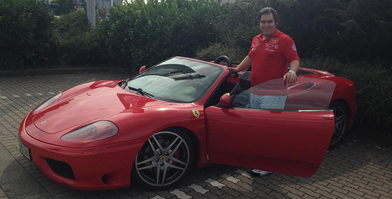 60 Min. Ferrari 360 Spider selber fahren in Magdeburg