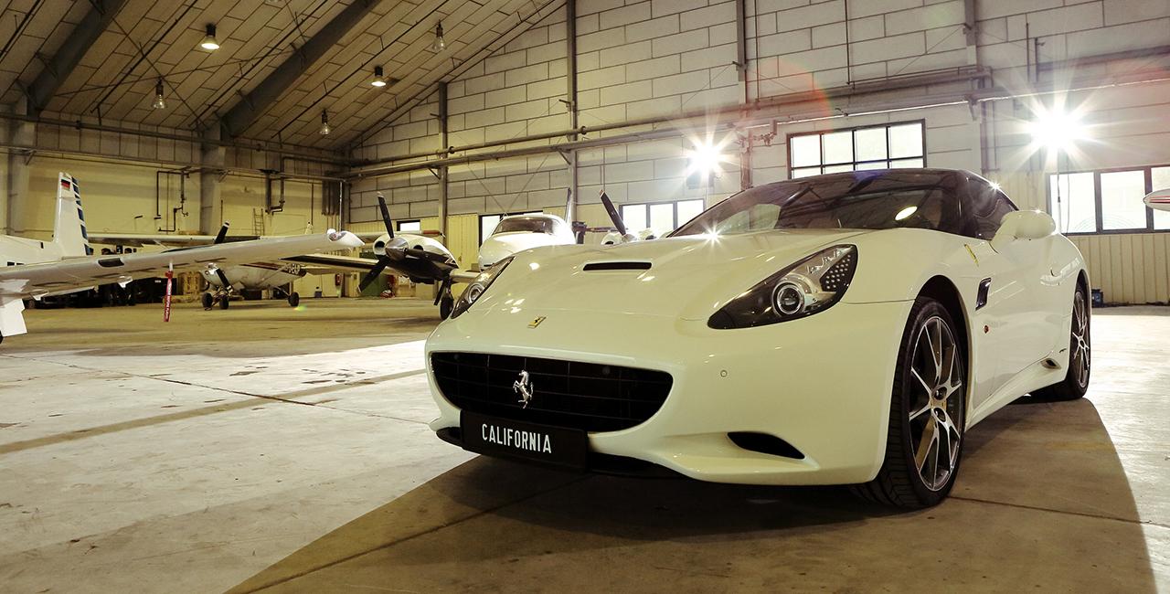 60 Min. Ferrari California selber fahren Mömbris