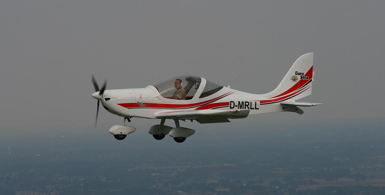 60 Min. Flugzeug selber fliegen Damme