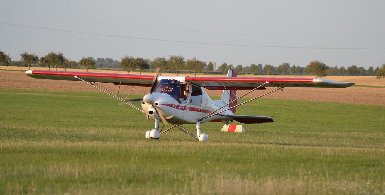 60 Min. Flugzeug selber fliegen Strausberg