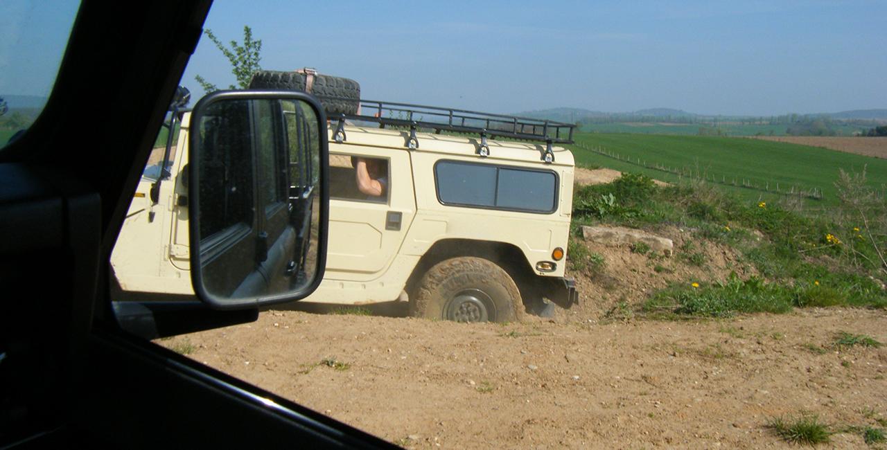 60 Min. Hummer H1 offroad selber fahren in Horstwalde