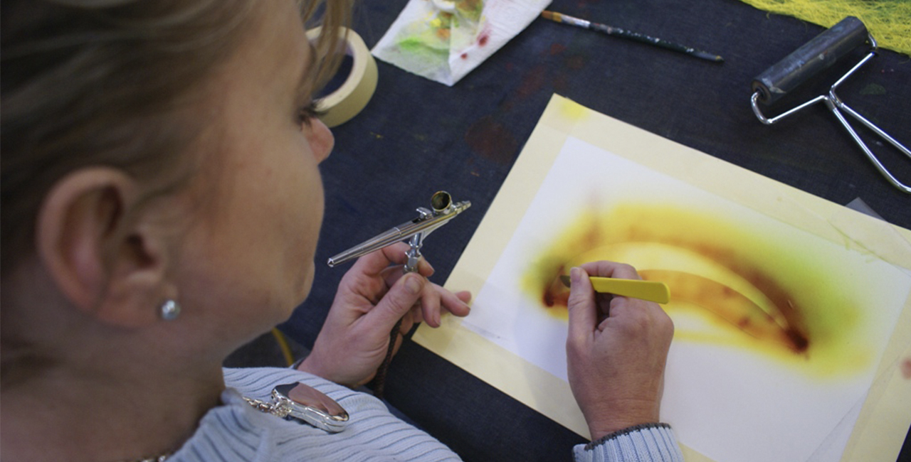 Airbrush-Workshop in Holzkirchen, Raum München in Bayern