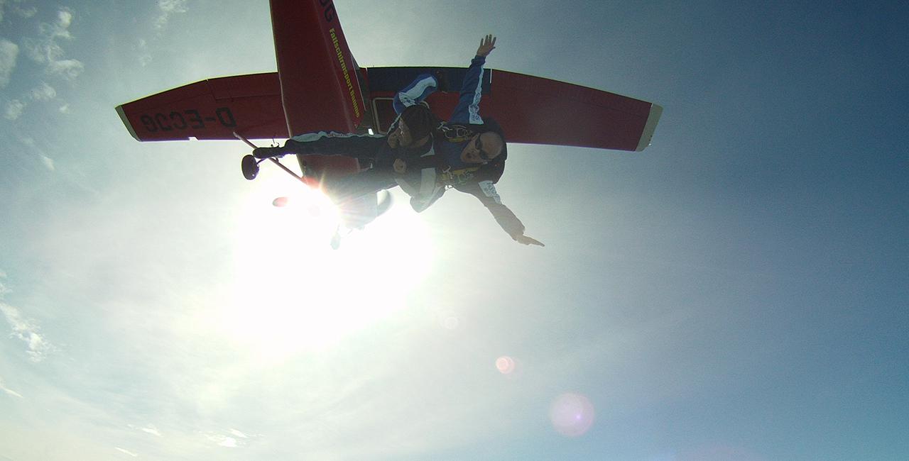 Fallschirm-Tandemsprung in Barth
