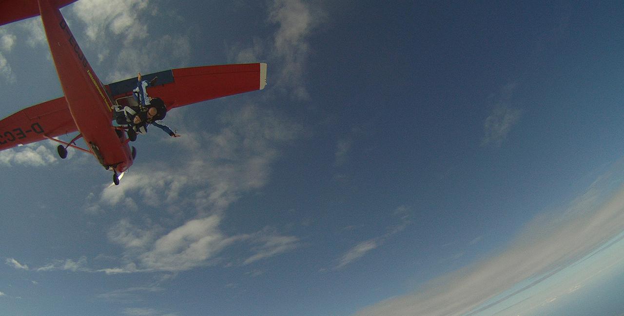 Fallschirmspringen Schnupperkurs in Barth