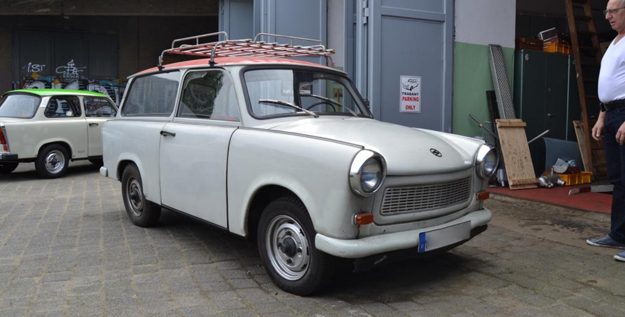 4 Std. Trabant fahren in Berlin