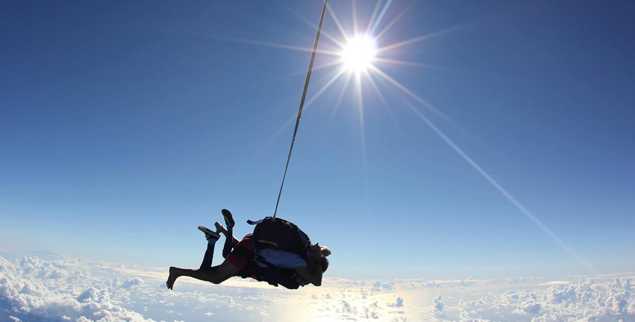 Fallschirm Tandemsprung Biberach