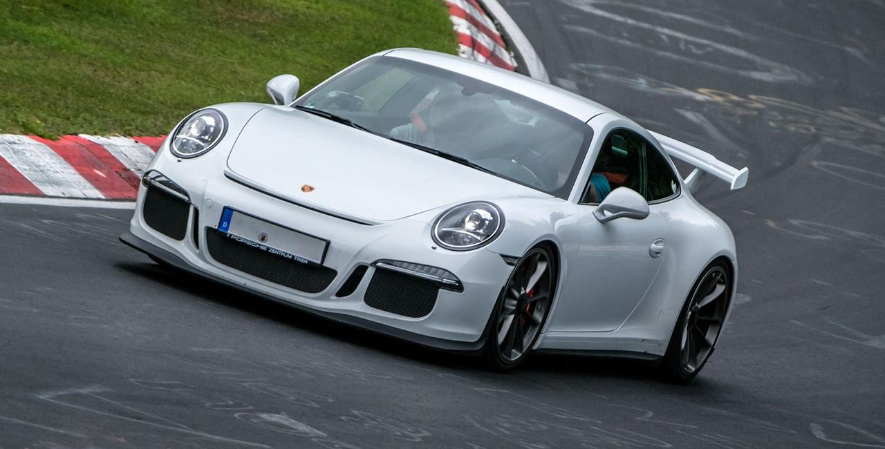 4 Runden Porsche GT3 selber fahren auf dem Bilster Berg