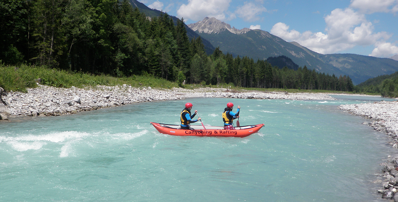 Canadier Rafting & Canyoning in Sonthofen, Allgäu