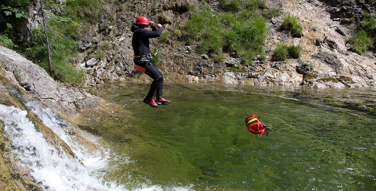 Canyoning Tour Bad Tölz