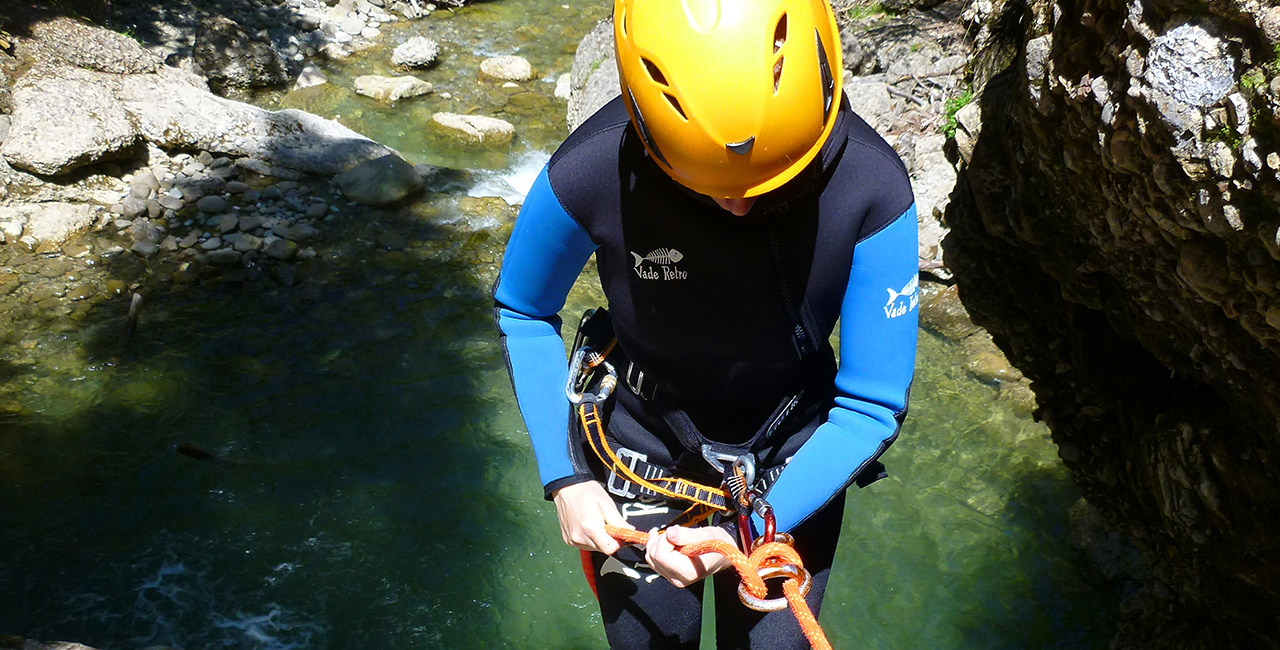 Canyoning Tour Fortgeschrittene Hirschegg