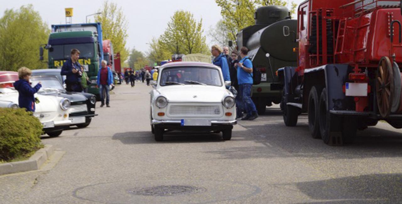 2 Std. Trabant Cabrio fahren in Chemnitz