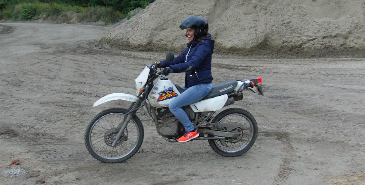 Enduro offroad fahren in Lübz, Mecklenburg-Vorpommern