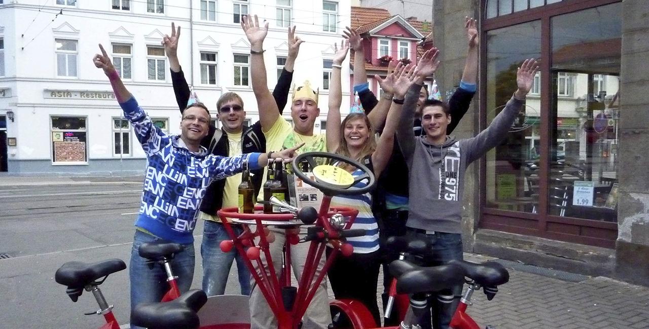 Eventbike fahren in Erfurt, Thüringen