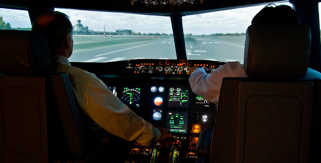 Flugsimulator Crashkurs in Berlin