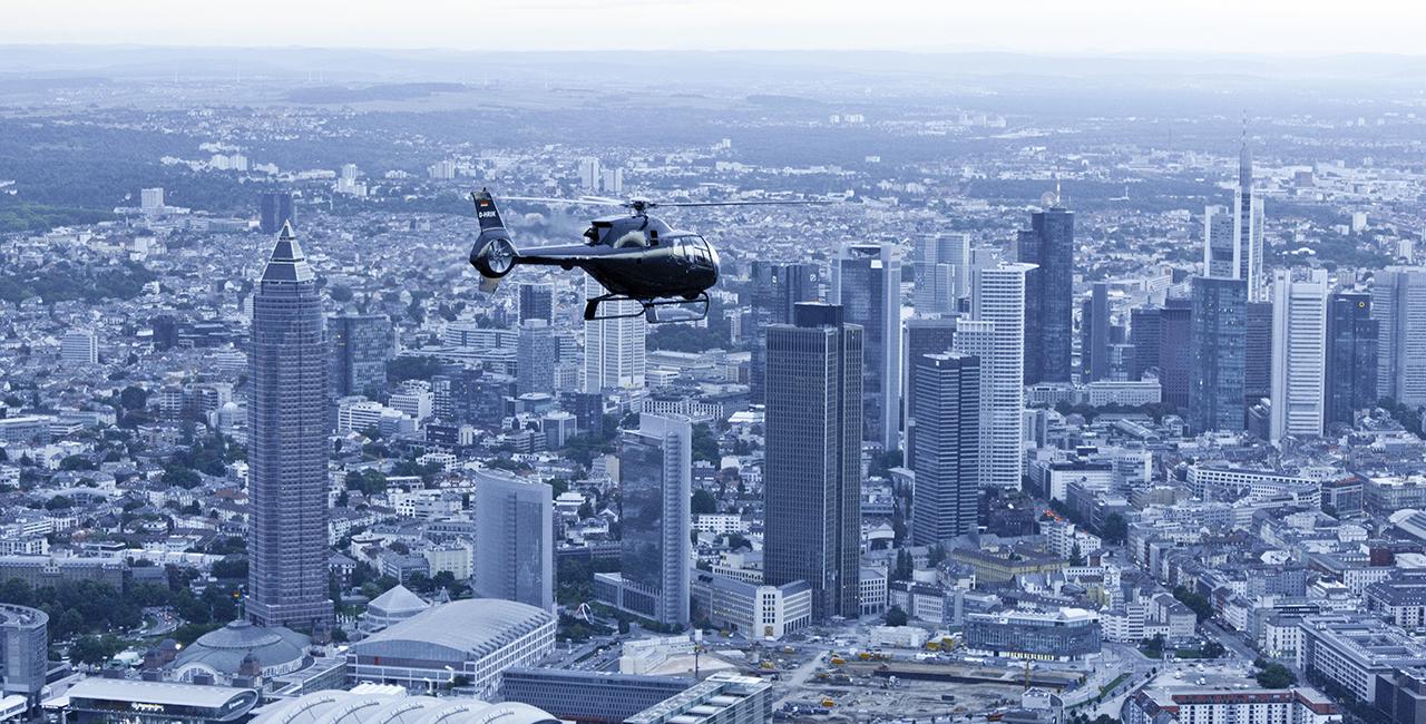 30 Min. Hubschrauber Flugsimulator in Frankfurt-Egelsbach