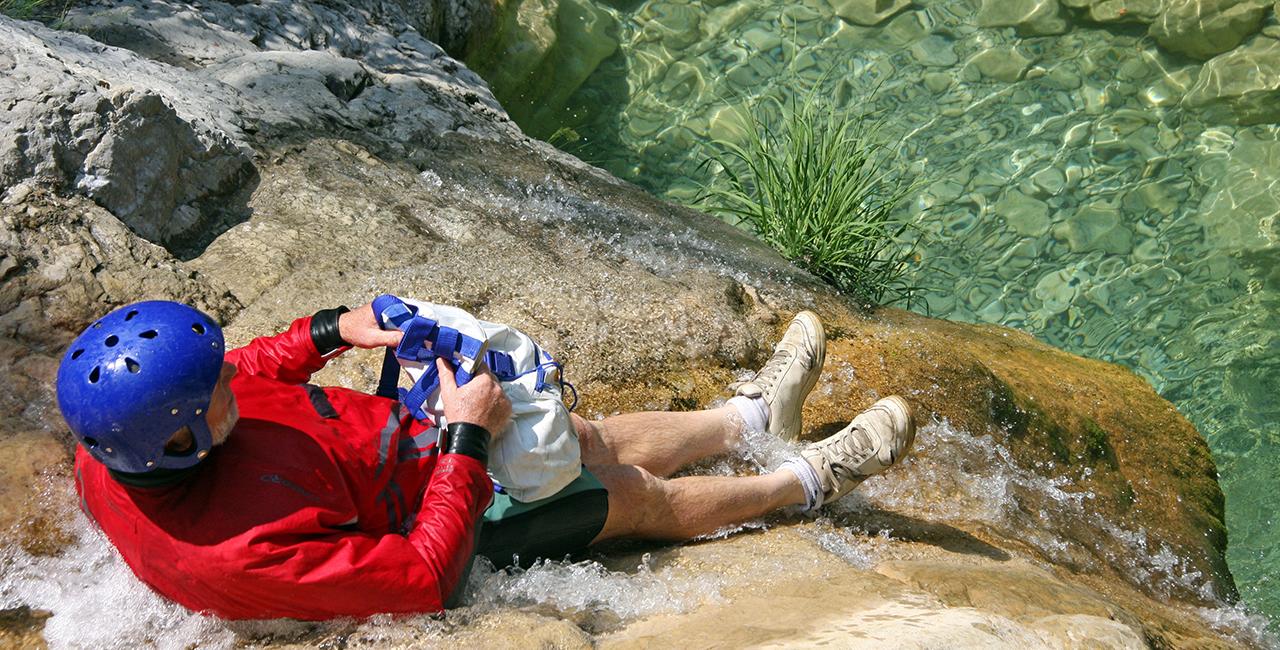Canyoning Tour Einsteiger Gunzesried