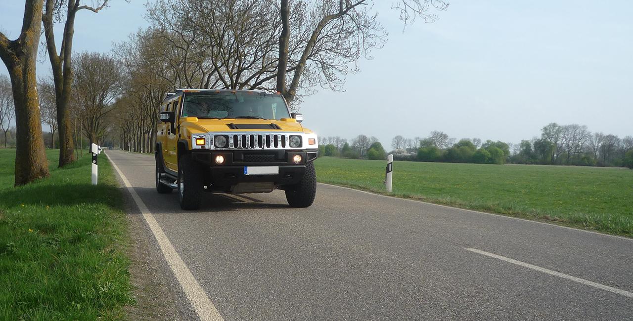 Hummer H2 Wochenende mieten in Langenau, Raum Ulm