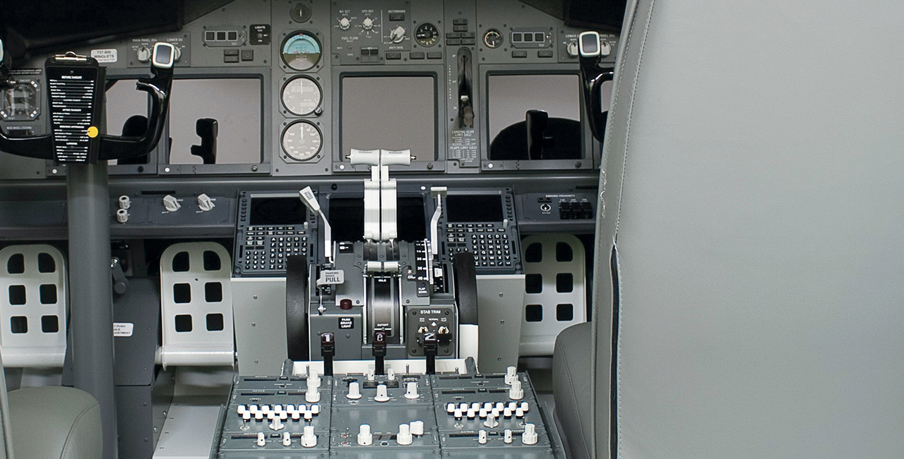120 Min. Flugsimulator Boeing 737 in Karlsruhe