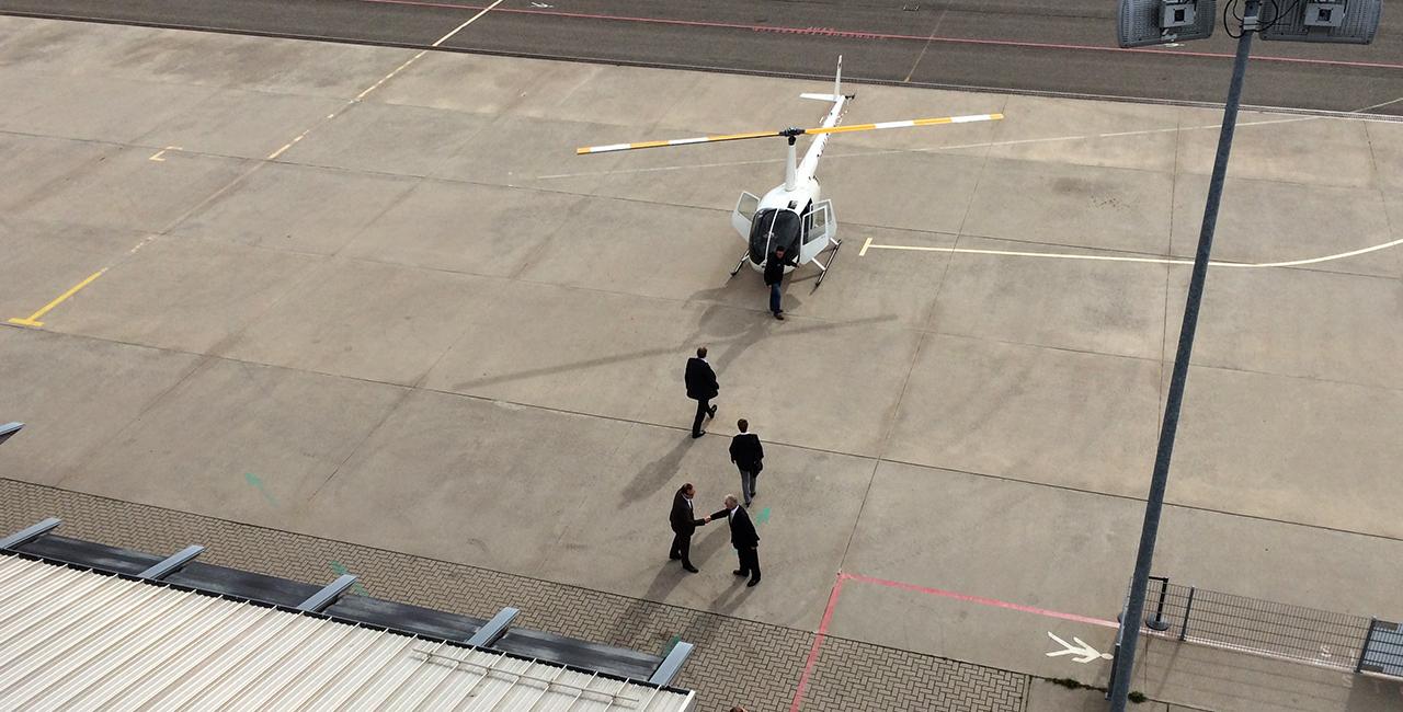 30 Min. Hubschrauber Rundflug über den Hockenheimring und Heidelberg ab Mannheim