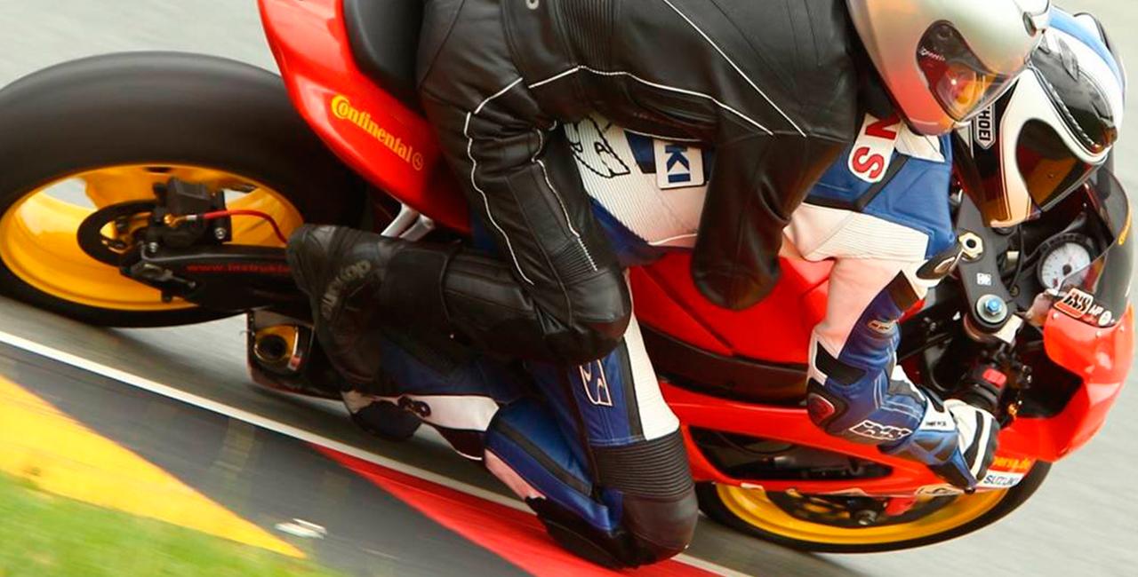 Motorrad-Renntaxi auf dem Sachsenring, Sachsen