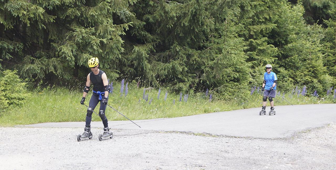 Nordic Cross Skating Kurs in Erfurt, Thüringen