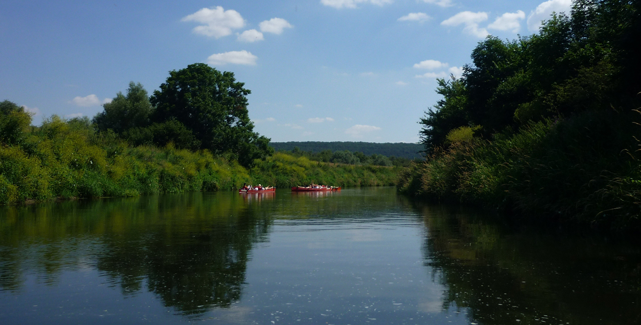 Schlauchboot-Tour Memleben