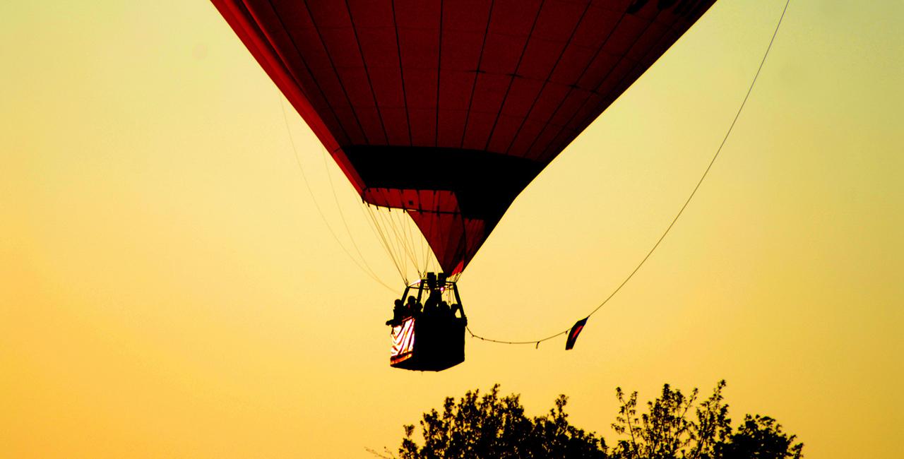 Romantische Ballonfahrt für Zwei Seckendorf