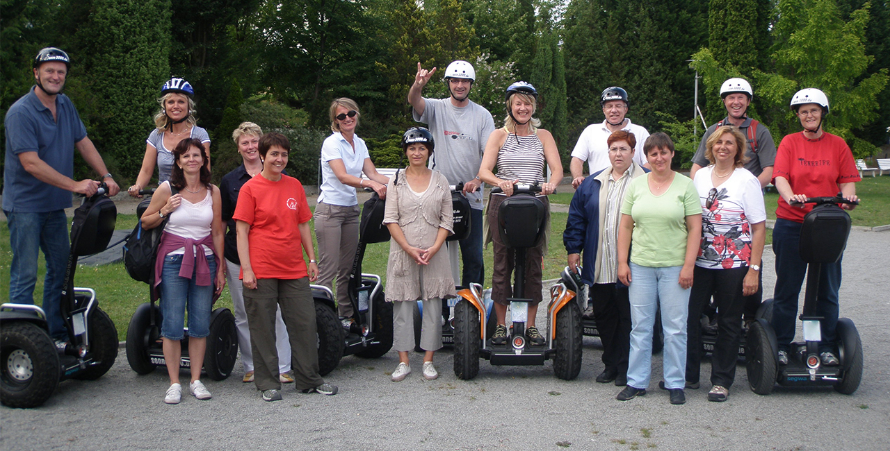 Segway-Tour in Bad Saarow, Raum Berlin in Brandenburg