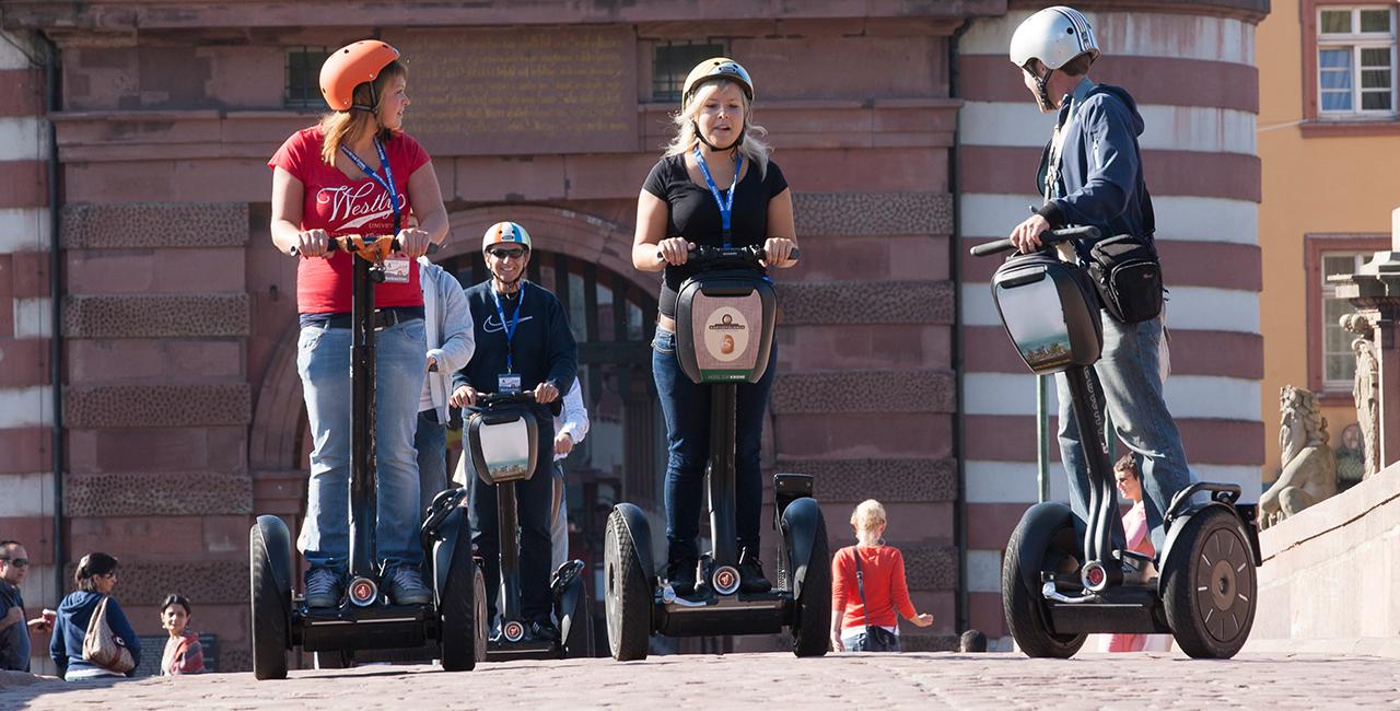 Segway-Tour in Neckargemünd, Raum Heidelberg in Baden-Württember
