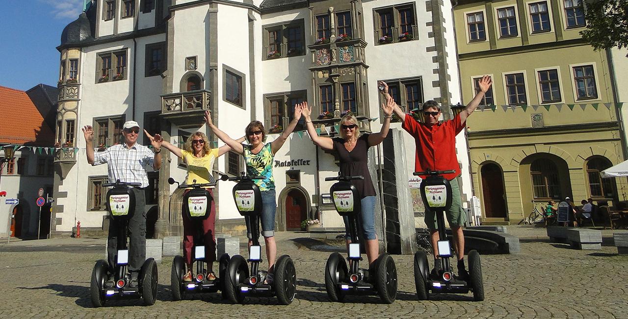Segway-Tour in Schmiedefeld, Raum Saalfeld in Thüringen