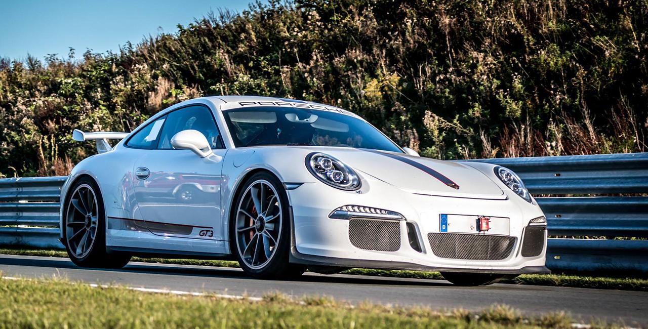 4 Runden Porsche GT3 selber fahren auf dem Spa Francorchamps