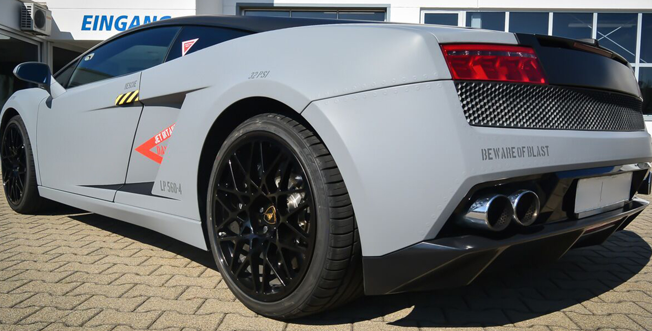 50 Min. Lamborghini LP560 selber fahren in Stuttgart