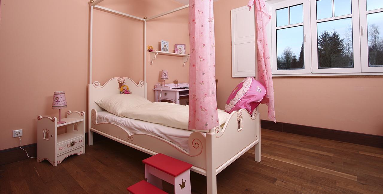 Übernachtung im Prinzessin Lillifee Zimmer in Ostbevern