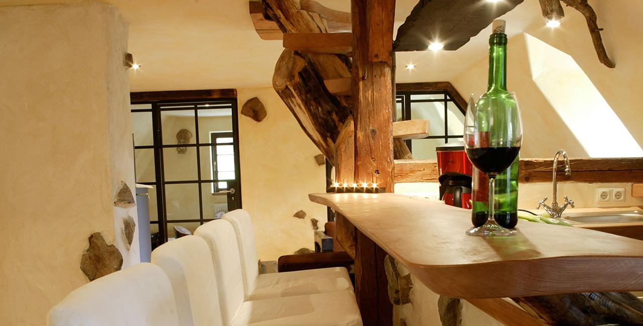 Übernachtung in der Großraum-Maissonette in Holzhau