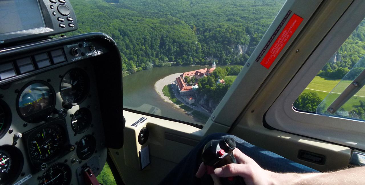 30 Min. Heli selber fliegen Weiden in der Oberpfalz