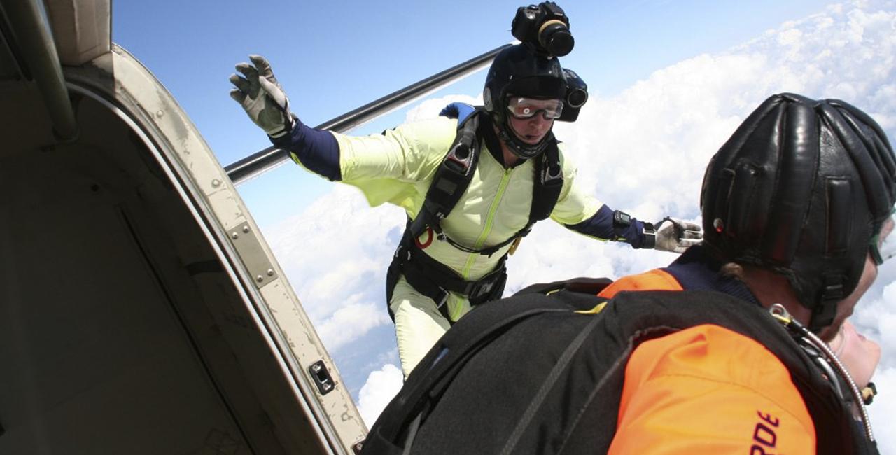 Fallschirm Tandemsprung mit Video Winsen