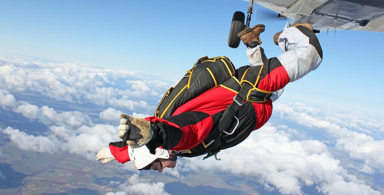 Fallschirm Tandemsprung Winsen