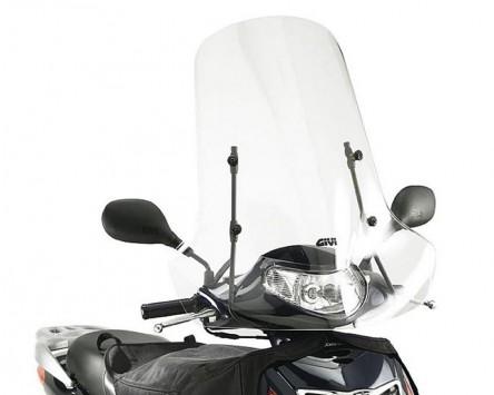 Windschild Scheibe GIVI Airstar klar Honda SH 125-150 Bj. 01-04