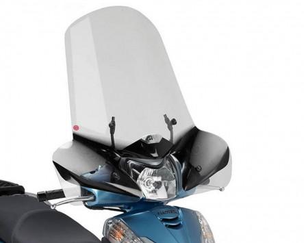 Windschild Scheibe GIVI Airstar klar Honda SH 300i Bj. 07-