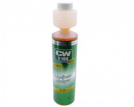 Scheibenreiniger Konzentrat DR. WACK CW1:100 Classic - 250ml