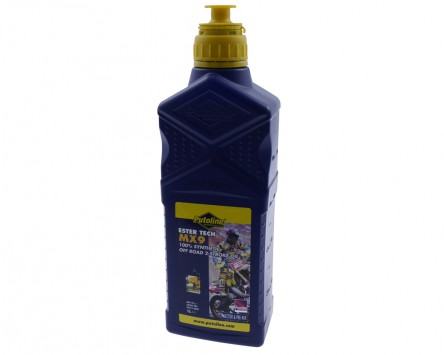 Motoröl Ester Tech MX9 Off Road PUTOLINE 2T vollsynth. 1 L