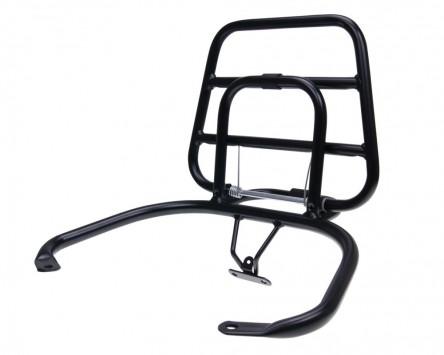 Top Case Träger/Gepäckträger klappbar schwarz Vespa LX,LXV,S
