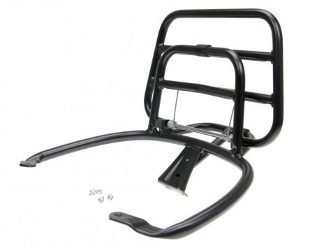 Gepäckträger klappbar schwarz für Vespa Primavera / Sprint