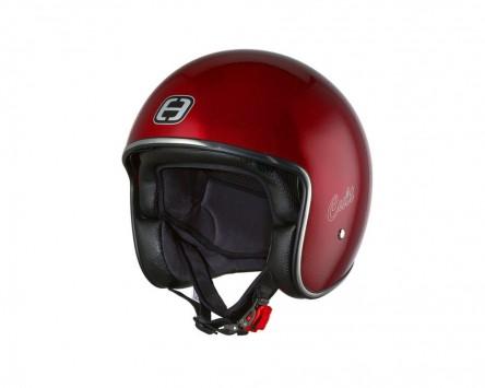 Helm Speeds Jet Cult Candy rot metallic Größe L (59-60cm)