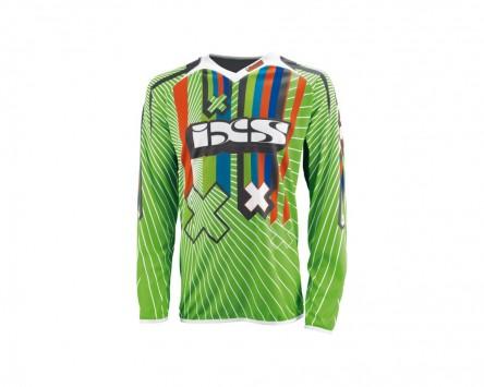 T-Shirt IXS SMASH grün-weiss-schwarz Gr. 2XL