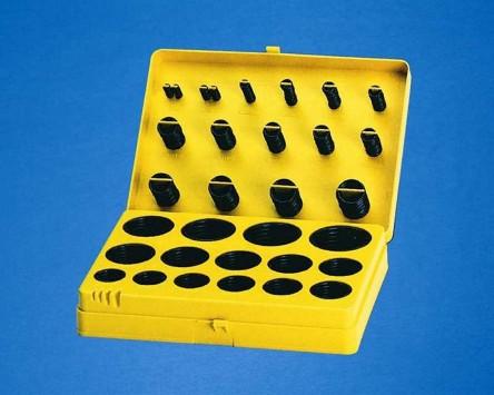 O-Ring Set 404 Stück in 30 Min verschiedene. Abmessungen 3x2mm bis 45x4mm