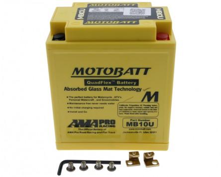 Batterie 12V 14,5Ah MOTOBATT MB10U 4-polig
