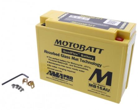 Batterie 12V 20,5Ah MOTOBATT MB16AU